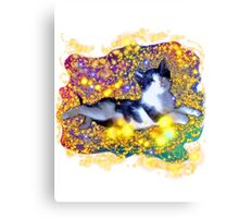 Space Kitten Canvas Print
