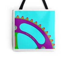 Psychedeli-Cat Chainring Tote Bag