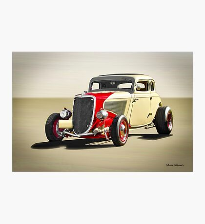 1934 Ford Five-Window 'Jalopy Style' Photographic Print