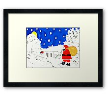 BRINGING THE GIFTS Framed Print