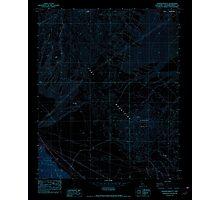 USGS TOPO Map California CA Sleeping Beauty 300529 1982 24000 geo Inverted Photographic Print