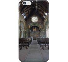 St Conans Kirk (nterior) iPhone Case/Skin