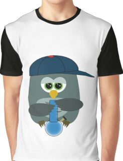 Smoking weed like Owl does Graphic T-Shirt