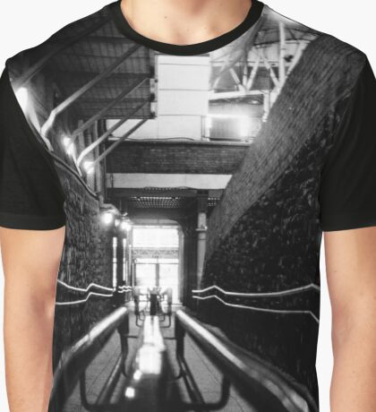 Pearse Station Railing Graphic T-Shirt