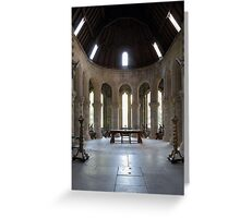 St Conans Kirk High Altar Greeting Card