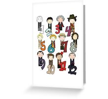 Count With the Doctors Greeting Card