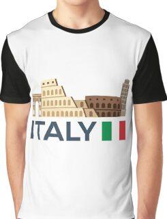 Italy, Rome skyline Graphic T-Shirt