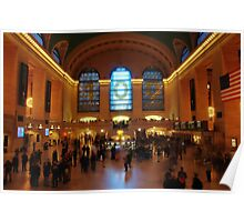 Saturday Afternoon at Grand Central Poster