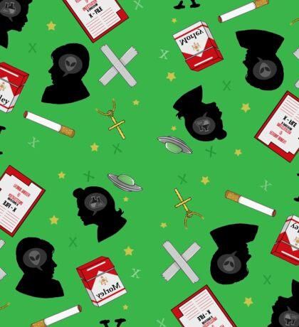 X Files doodle Sticker