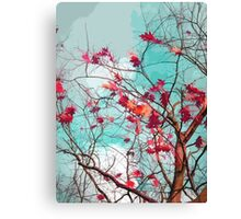 Leaves on branches Canvas Print