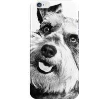 Miniature Schnauzer Puppy iPhone Case/Skin