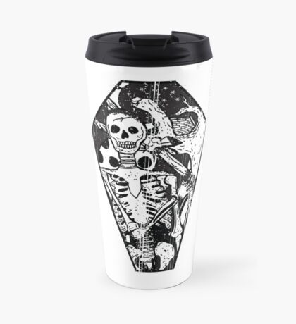 Death is Just another adventure Travel Mug