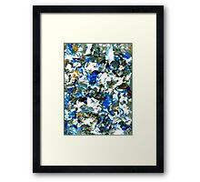 """""""Beach"""" - Abstract Painting Framed Print"""