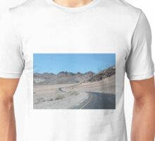 Winding through Death Valley Unisex T-Shirt