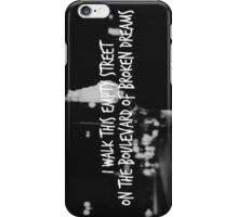 Green Day Boulevard of Broken Dreams Print iPhone Case/Skin