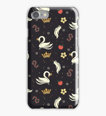 Swan Queen - Dark iPhone Case/Skin