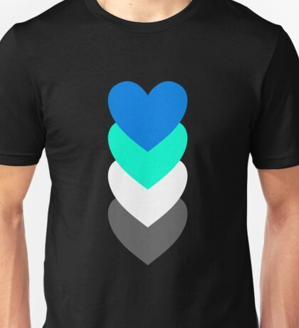 Fraysexuality in Shapes Unisex T-Shirt