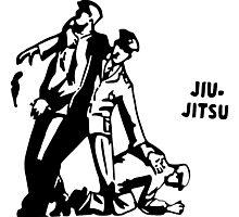 Classic Jiu Jitsu Photographic Print