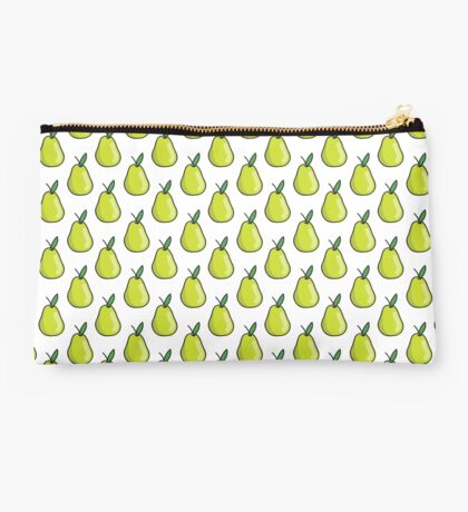 pear doodle pattern Studio Pouch