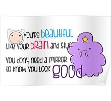Your Beautiful Brain Poster