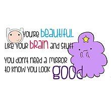 Your Beautiful Brain Photographic Print