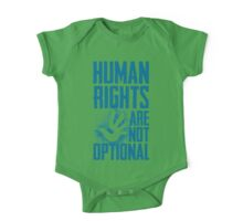 Human Rights Are Not Optional One Piece - Short Sleeve