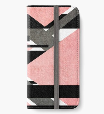 Scratched Canon Pink iPhone Wallet/Case/Skin