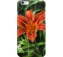 Wood Lily iPhone Case/Skin