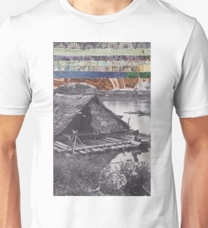 Floating Home Unisex T-Shirt