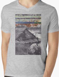 Floating Home Mens V-Neck T-Shirt