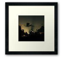 4305 Framed Print