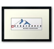 Davos Klosters  Framed Print