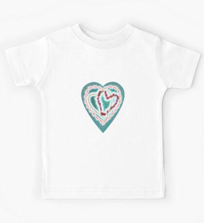 Four Hearts Kids Tee