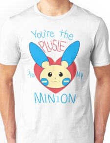 Valentines Day Plusle to my Minion Unisex T-Shirt