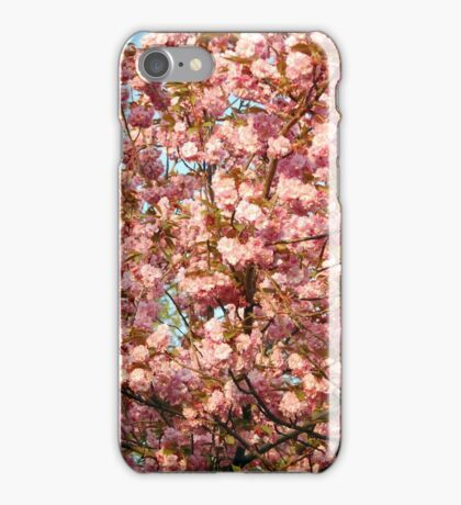 Rosa Blüten iPhone Case/Skin