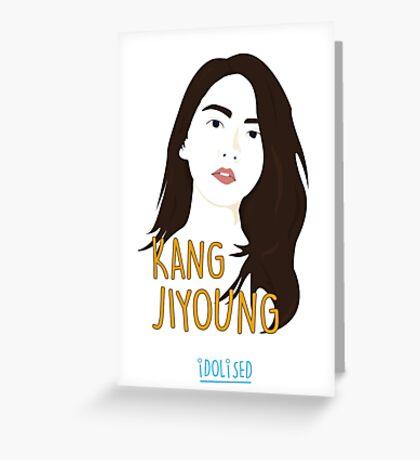 KARA Jiyoung Greeting Card