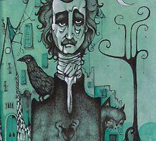 Mr Edgar Allan Poe by Paola Vecchi