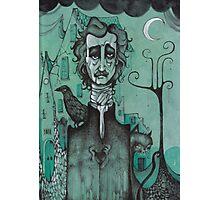 Mr Edgar Allan Poe Photographic Print