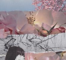 Floral Headache  Sticker