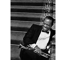 """Louis """"Satchmo"""" Armstrong Photographic Print"""