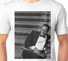 "Louis ""Satchmo"" Armstrong Unisex T-Shirt"