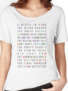 Sherlock - All episodes - MiniGame Women's Relaxed Fit T-Shirt