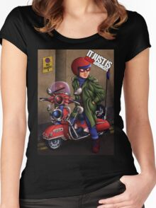 It Just Is, Mods Among Us (SP1D3R) Women's Fitted Scoop T-Shirt