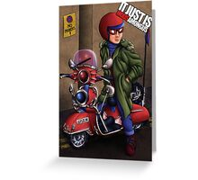 It Just Is, Mods Among Us (SP1D3R) Greeting Card