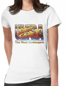 Ultra Street Fighter 2 The Final Challengers Womens Fitted T-Shirt