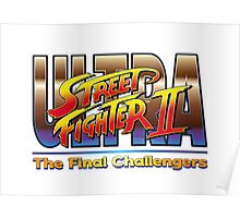 Ultra Street Fighter 2 The Final Challengers Poster