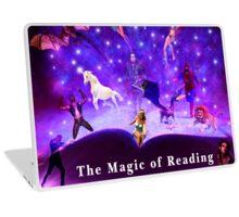 The magic of readin Laptop Skin