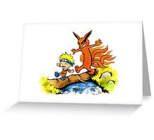 Homicidal Psycho Ninja Fox Greeting Card