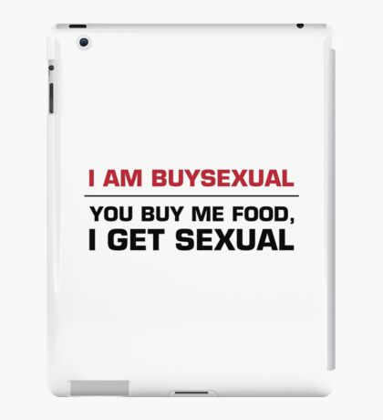 Buysexual iPad Case/Skin
