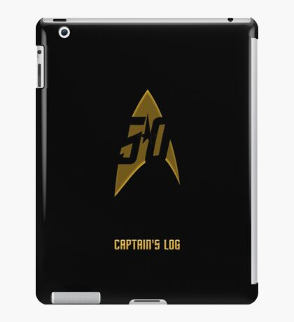 Captain's Log iPad Case/Skin